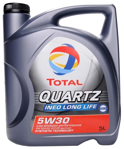 Масло Моторное масло Total Quartz Ineo Long Life 5W -30