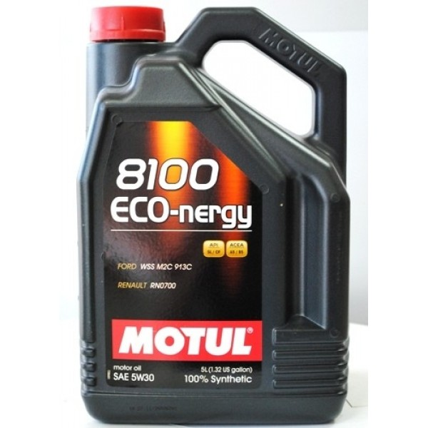 Масло Моторное масло Motul Eco-nergy 8100 5W30