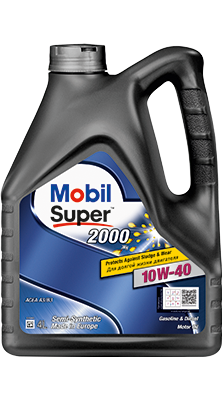Масло Моторное масло Mobil Super 2000 10W-40